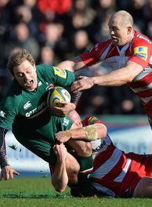 Mathew Tait Leicester Tigers v Gloucester 2014
