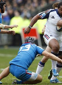 France v Italy - Six Nations 2014: Mathieu Bastareaud