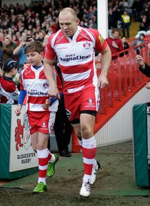 Mike Tindall Gloucester 2014