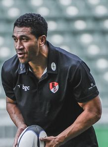 Mils Muliaina Barbarians training 2012