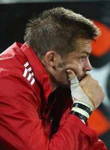 Richie McCaw watches on as Crusaders lose