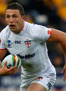 Sam Burgess England Rugby League WC 2013