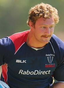 Scott Higginbotham Rebels training 2014