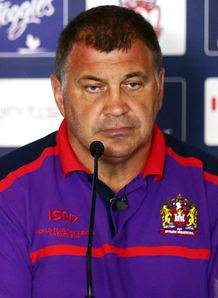 Super League: Wigan coach Shaun Wane commends Bradford Bulls