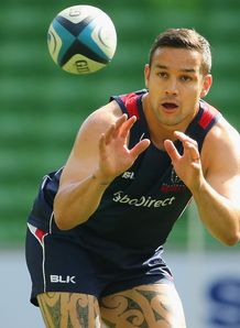 Tamati Ellison at Rebels training