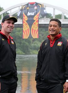 Tom Marshall and Augustine Pulu for the Chiefs