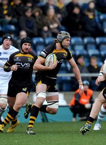 Tom Palmer taking it up for London Wasps