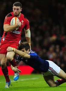 Wales v France Alex Cuthbert