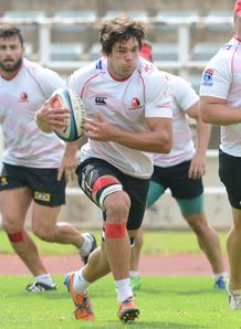 Warren Whiteley at Lions training ahead of Super Rugby