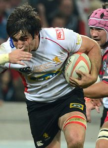 Warwick Tecklenburg for the Golden Lions