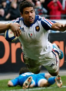 France v Italy - Six Nations 2014: Wesley Fofana