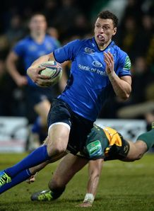 Zane Kirchner in action for Leinster