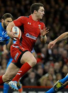 SKY_MOBILE George North - Wales v Italy - 1/2/14