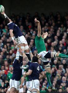 scotland ireland lineout ryan wilson devin toner