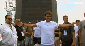 Nadal relishing time in Rio