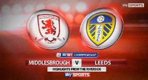 Middlesbrough 0-0 Leeds