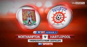 Northampton 2-0 Hartlepool