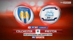 Colchester 1-2 Preston