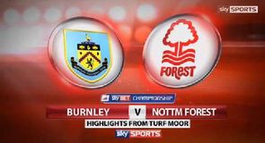 Burnley 3-1 Nottingham Forest