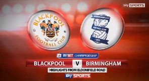 Blackpool 1-2 Brimingham