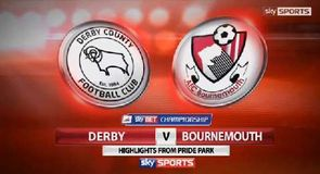 Derby 1-0 Bournemouth