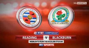 Reading 0-1 Blackburn
