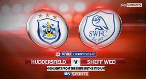 Huddersfield 0-2 Sheffield Wednesday