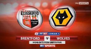 Brentford 0-3 Wolves