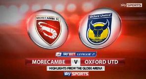 Morecambe 1-1 Oxford