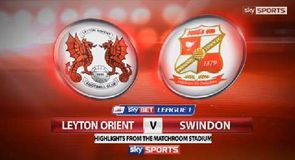 Leyton Orient 2-0 Swindon