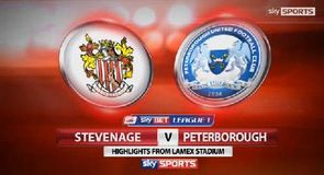 Stevenage 0-1 Peterborough