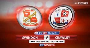Swindon 1-1 Crawley