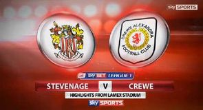 Stevenage 1-0 Crewe