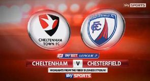 Cheltenham 1-4 Chesterfield