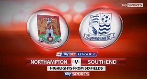 Northampton 2-1 Southend