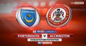 Portsmouth 1-0 Accrington