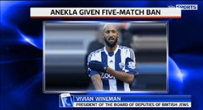 Anelka given five-match ban