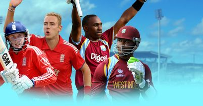 West Indies v England live!