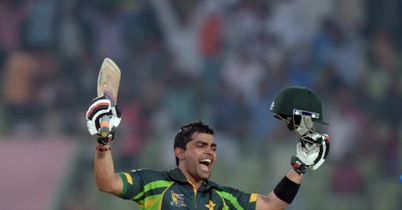 Asia Cup: Umar Akmal century saves Pakistan from Afghanistan shock