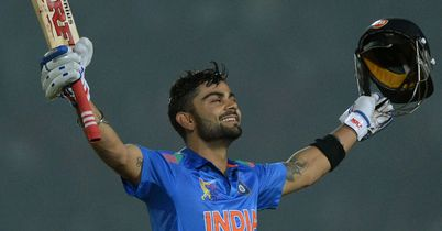 Asia Cup: Virat Kohli hit a century as India beat Bangladesh