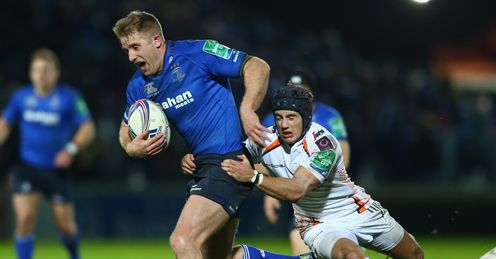 Leinster are two points clear of rivals Munster at the top of the RaboDirect