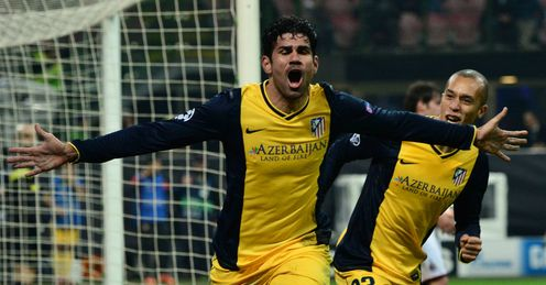 Costa earns Atletico away win