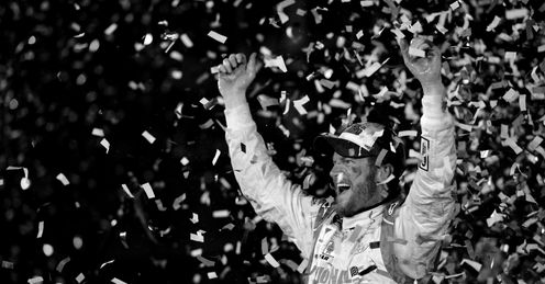 Dale Earnhardt Jnr: winner of the 56th Daytona 500