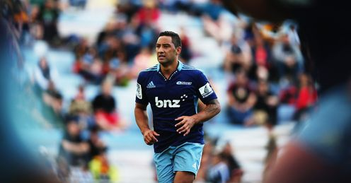 Benji Marshall running out for Blues