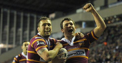 Brett Ferres Wigan Warriors v Huddersfield Giants