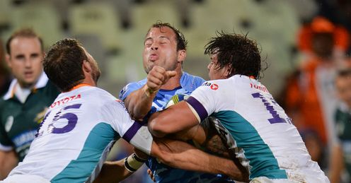 Francois Hougaard of the Bulls v Cheetahs