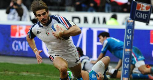 France v Italy - Six Nations 2014: Hugo Bonneval