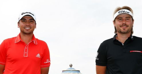 Day (L) and Dubuisson served up a classic, says Ewen