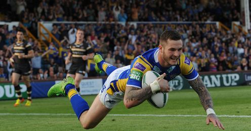 Zak Hardaker tops the Opta table for average game scores