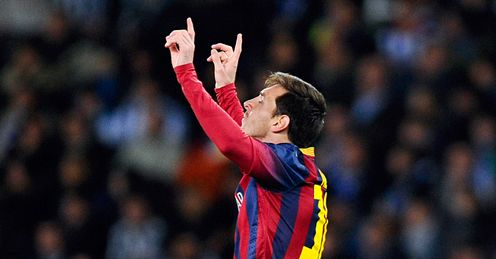 Messi: He and Barca are on the up, says Guillem